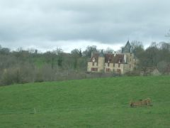 The chateau where Monet lived and painted in the valley of the artists