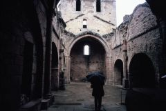 The church at Oradour Sur Glane where so many lost their lives