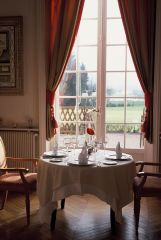The local Michelin restaurant - Chateau de la Cazine