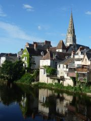 The lovely town of Argenton sur Creuae